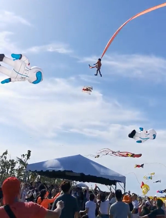 Fille Cerf-volant Taiwan
